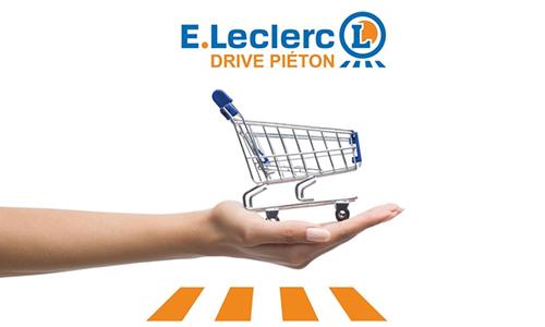 Leclerc Drive Pieton : l'arme fatale du centre-ville